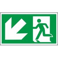 Išėjimas į apačią kairėje