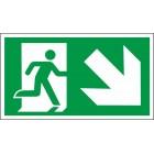 Išėjimas į apačią dešinėje