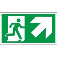 Išėjimas į viršų dešinėje