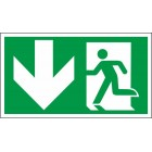 Išėjimas kairėje į apačią