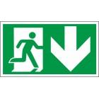 Išėjimas dešinėje į apačią