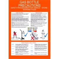 GAS BOTTLE PRECAUTIONS