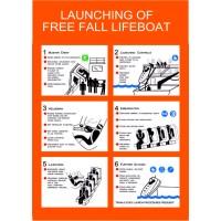 LAUNCHING OF FREE FALL LIFEBOAT