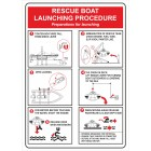 RESCUE BOAT LAUNCHING PROCEDURE