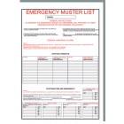EMERGENCY MUSTER LIST