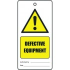 DEFECTIVE EQUIPMENT